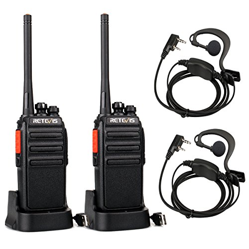 Retevis RT24 Walkie Talkie Recargable, Walkies Profesionales, PMR446 sin Licencia 16 Canales...