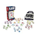 It calls upon visual perception skills and arithmetic as players count the dots and match dice of the same number. Scooping up shaking and rolling the dice exercises the manipulation aspect of fine motor skills. Flash is the go-to game for electrifyi...