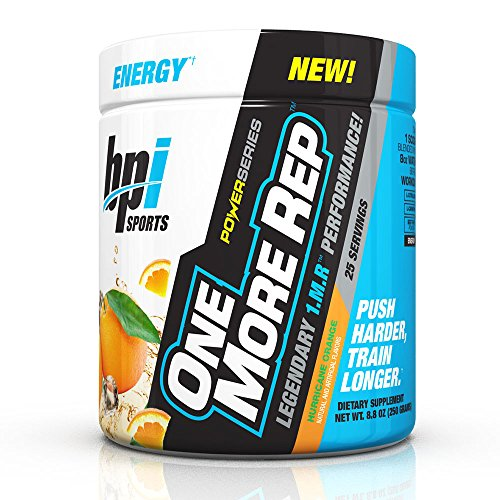 BPI SPORTS One More Rep 1.M.R 250g Hurricane Orange, 0.1