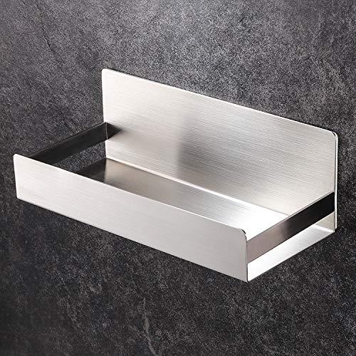 YIGII Duschregal Ohne Bohren Duschkorb Edelstahl Bad Duschablage Selbstklebend für Badezimmer