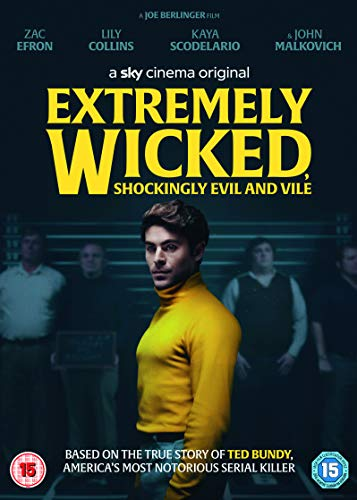 Extremely Wicked, Shockingly Evil and Vile (DVD) [2019]