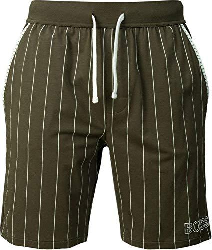 BOSS Herren Trend Shorts Pyjamaunterteil, Dark Green302, M