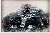 Kribee Lewis Hamilton Formel 1 Poster 06, dekoratives