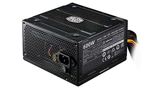 Cooler Master Elite V3 230V 600W 600W ATX Black power supply unit - Power Supply Units (600 W, 200-240, 47-63, Active, 80 W, 264 W)
