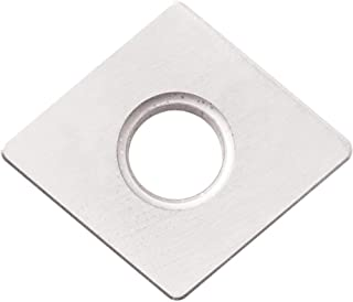 10 Pieces Kyocera SPG 432T00825 KS6000 Grade Uncoated Ceramic 11 Degree Square Positive Rake Angle Neutral Turning Insert for Interruption and High Speed in Cast Iron