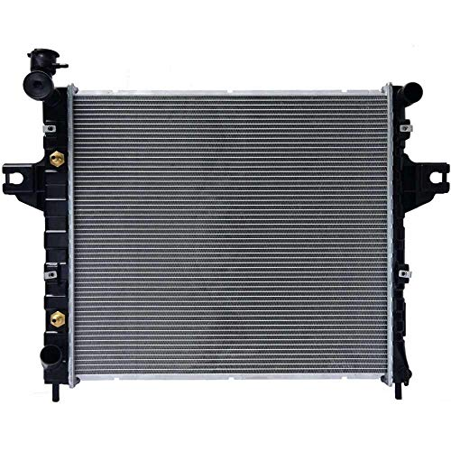 AutoShack RK830 23.4in. Complete Radiator Replacement for 1999-2004 Jeep Grand Cherokee 4.0L