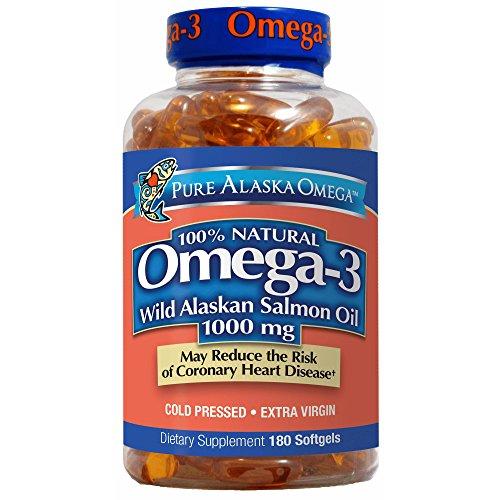 Trident Alaskan Salmon Oil, 1000mg, 180 ct. (Pack of 2)