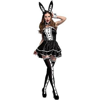 CHANGL Alicia en el país de Las Maravillas Disfraz de Conejo ...