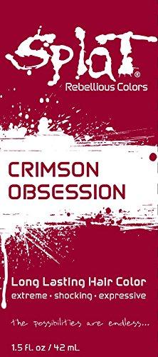 Splat | Crimson Obsession | 1.5 oz. Foil Pack | 30 Wash | Semi-Permanent Red Hair Dye