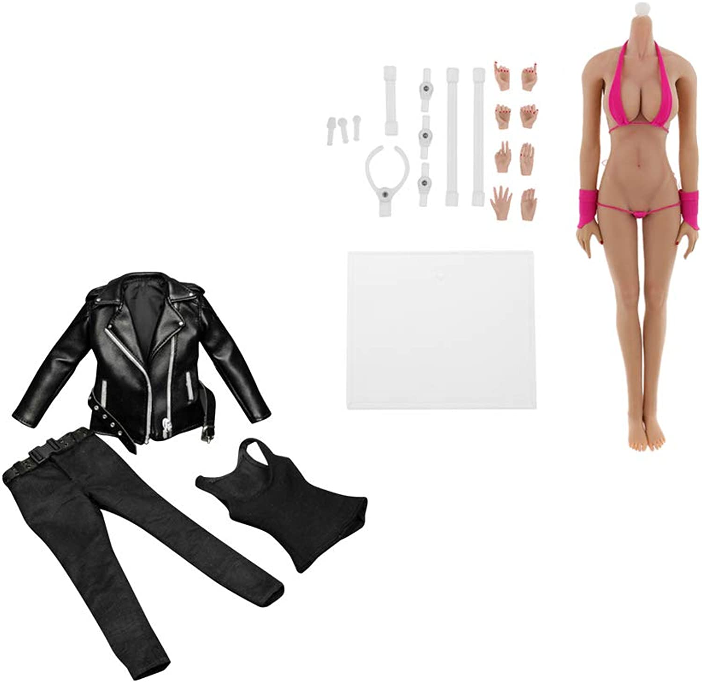Sharprepublic 1 6 Female Doll Body 12inch Action Figure Clothes for Sidehsow Enterbay Kumik
