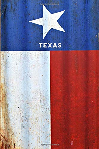 TEXAS: 6x9 lined journal  : Easy gift for Texans!