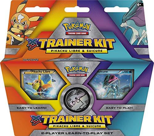 Nintendo Kit d'entraîneur Pikachu Libre et Suicune Pokémon XY