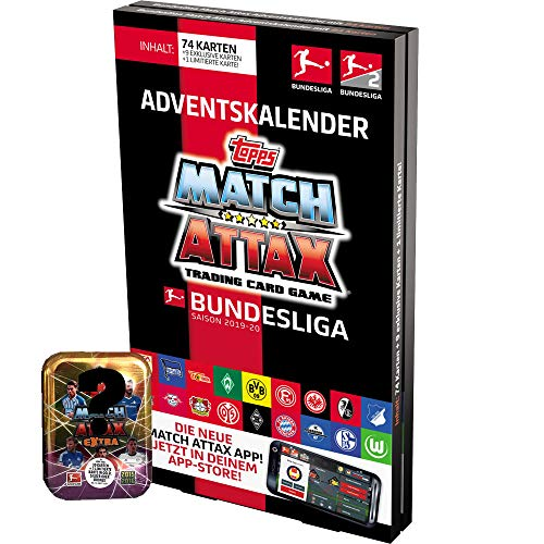 CAGO Topps Match Attax 2019/2020 - Adventskalender + Mini-Tin Saison 15/16 Extra