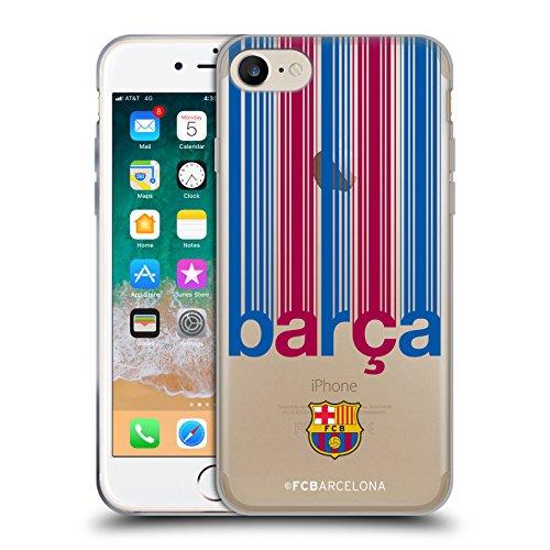 Head Case Designs sous Licence Officielle FC Barcelona Barca CAMPIONS Coque en Gel Doux Compatible avec Apple iPhone 7 / iPhone 8 / iPhone Se 2020