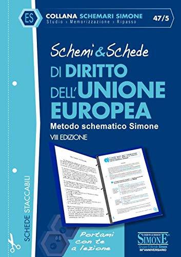 Schemi & schede di diritto dell'Unione Europea
