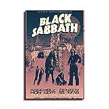 Black Sabbath Leinwand-Kunst-Poster und Wandkunst, Bild