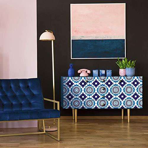 Möbeldekal, självhäftande, kakeldekal, dekoration för bord, skåp, hylla | 50 x 60 cm