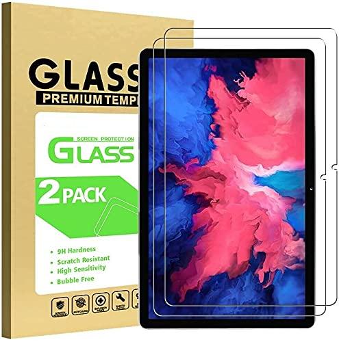 BNBUKLTD (2 unidades) compatible con Lenovo Tab P11 Protector de pantalla de vidrio templado Tableta