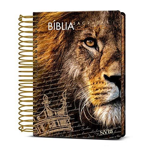 Bíblia Anote Nvi - Espiral - Leão Coroa