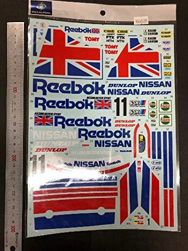 デカールプール 1/12 ニッサンスカイラインR32 GT-R リーボック フルデカール 211
