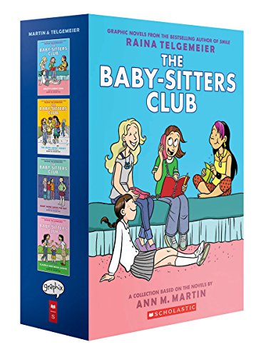 The Baby-Sitters Club Graphix #1-4 Box Set: Full-Color Edition