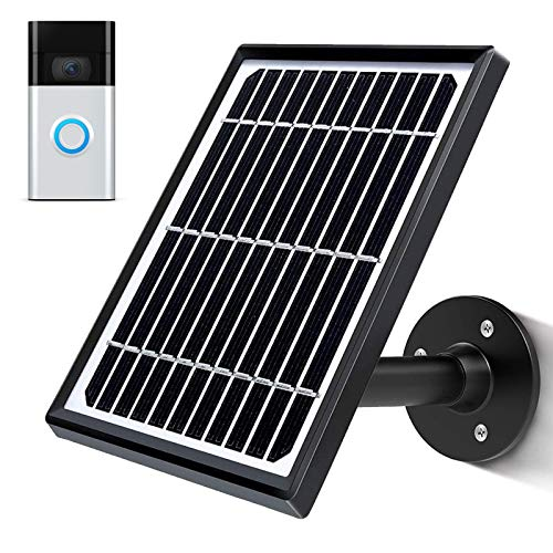 sumaitong Solar Panel Compatible with Video Doorbell 1st GenWaterproof Solar Panel with...