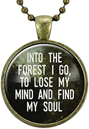 Amazon Travel Quotes Pendant Necklaces Handmade Products