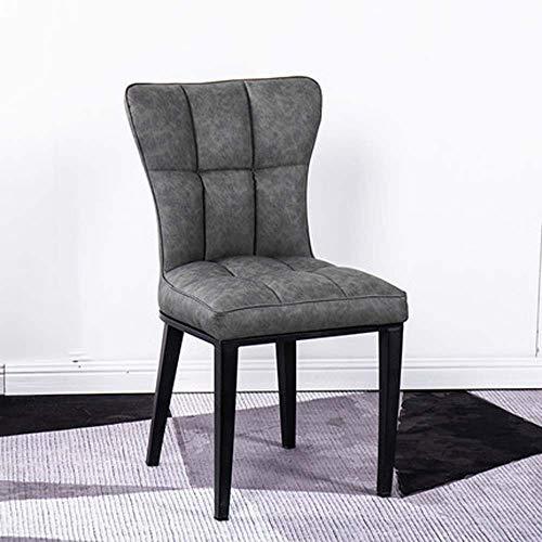 Stuhl Zurück Nach Hause Stuhl Faul Moderner Minimalistischer Legeres Restaurant Hotel Einfacher Europäischer Licht Esszimmerstuhl,5