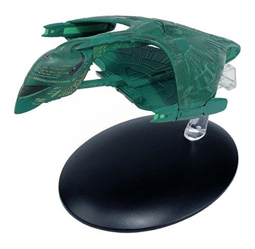 Filmwelt Shop Romulanischer Warbird Raumschiff Eaglemoss Collection Modell - Star Trek die Offizielle Sammlung: Ausgabe #6 mit deutschem Magazin