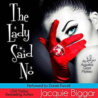 The Lady Said No audiobook cover art