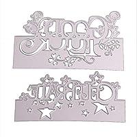 Marschao DIYの金属切削ダイスステンシルスクラップブッキングアルバム紙カード装飾を残します 手動スキルを磨く