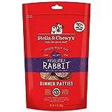Stella & Chewy's Comida para Perros de liofilizada, cruda, Absolutamente Conejo, 14 onzas