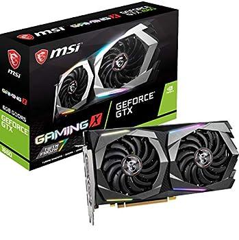 MSI Gaming GeForce GTX 1660 128-Bit HDMI/DP 6GB GDRR5 HDCP Support DirectX 12 Dual Fan VR Ready OC Graphics Card  GTX 1660 Gaming X 6G