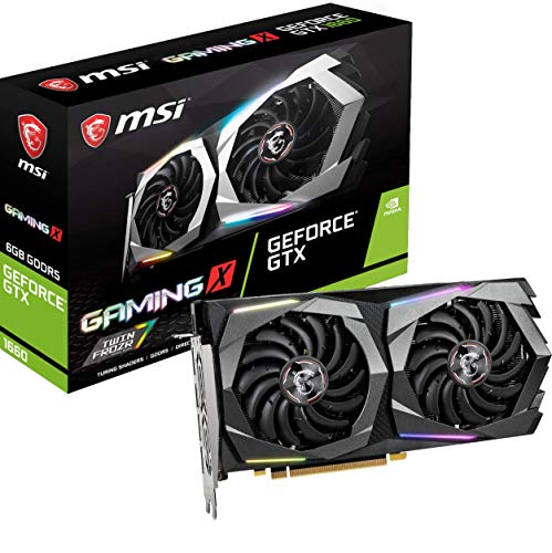 MSI Gaming GeForce GTX 1660 128-Bit HDMI/DP 6GB GDRR5 HDCP...