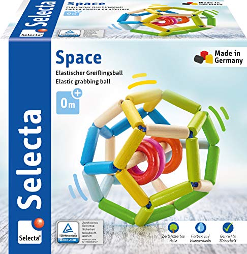 Selecta 61008 Space, Greiflingball, 11 cm