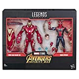 Marvel Legends - Iron Man Mark 50 y Iron Spider (Hasbro E6341E48)...