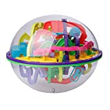 Kofun Toy, 299 Barriers 3D Magic Intellect Ball Balance Maze Game Puzzle Globe Toy Kid Gift Ideal Christmas Birthday Puzzle Toy Gift For Kids