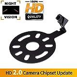 Backup Camera for Car, Waterproof Rear-View License Plate Car Rear Backup Parking Camera