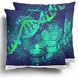 Fodere per Cuscino da tiro 1pack Gene Dna Struttura su Test scientifici Biotecnologia Biochimica Biologia Cell CGI