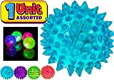 JA-RU Light-Up Spike Ball MEGA Size - One Ball