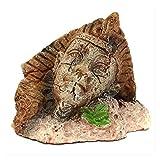 LXESWM Accesorios de Acuario Decoraciones for el hogar Ornamento Figuras Regalo Retro Acuario Egipcio Vintage Resina Suministros for la decoración del Acuario Pet PEQUETE Tanque