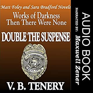 Double the Suspense audiobook cover art