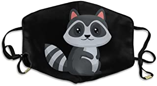 KZ MASKS Unisex Cartoon Civet Cats Printed Cotton Mouth-Masks Face Mask Polyester Anti-dust Masks