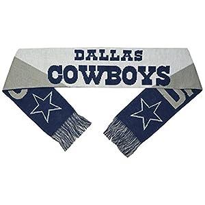 Cowboys Big Logo Jacquard Jersey Scarf