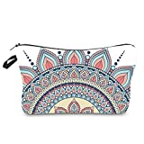Makeup Bag for Women Adorable Roomy Cosmetic Bags Color Print Pattern Travel Waterproof Toiletry Bag Accessories Organizer Gifts (makeup bag900)