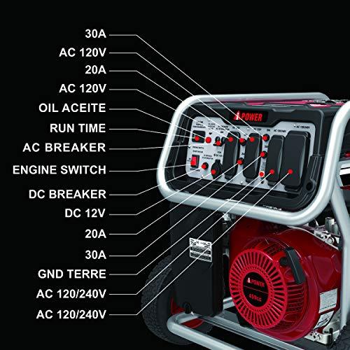A-iPower 12000 Watt Generator