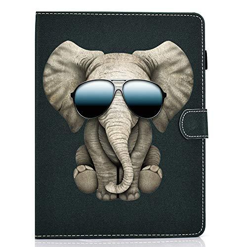 WDSUN 7 Zoll Tablet Hülle Universal, Flip Case Schutzhülle Tasche für Lenovo Tab E7/Tab 7 Essential, Fire 7, Huawei MediaPad T3 7