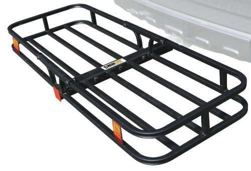 MaxxHaul 70107 Hitch Mount Compact Cargo Carrier - 53' x...