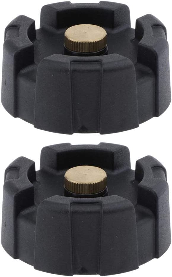 High quality new Senmubery 2X Plastic Cap for shop Outboard Motor Fuel Tank 12 Black