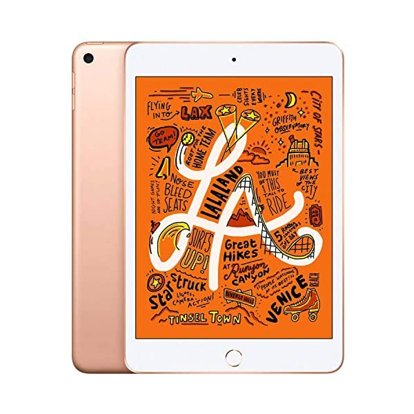 "Apple iPad Mini   7.9""   5th GEN   WI-FI   64GB   Gold   2019   (Renewed) 1"